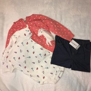 NWT Carter's Outfit